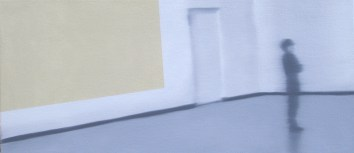 Away, Oil on canvas, 8 x 18