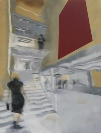 Public Art, Oil on canvas, 48 x 36