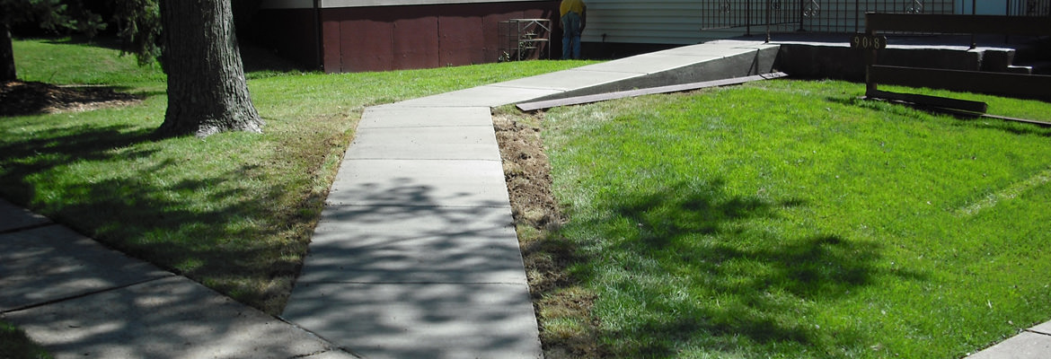 Concrete Wheelchair Ramp  how to build a household