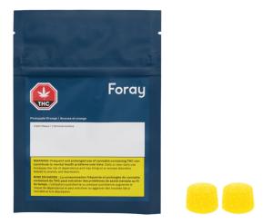 Foray Pineapple Orange Gummies