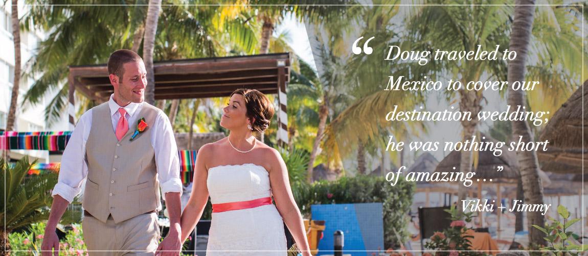 Stunning Cancun Mexico wedding photography Douglas James Studios bride groom beach Sands Resort