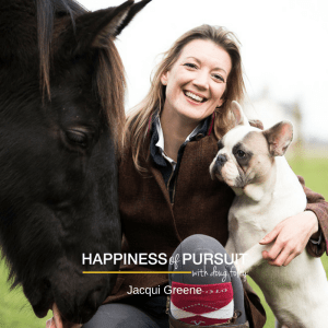 Jacqui Greene on The Happiness of Pursuit Podcast