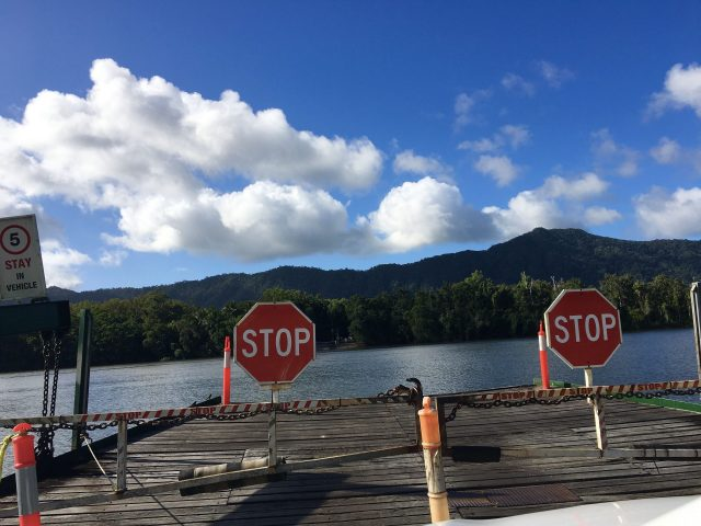 daintree ferry tender
