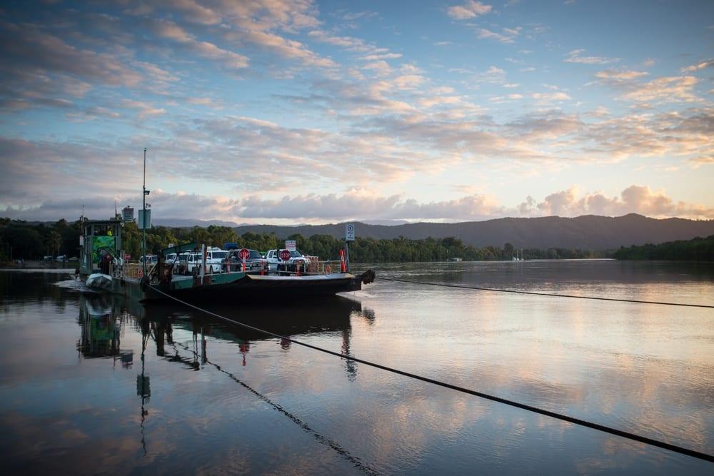 interim ferry contract daintree