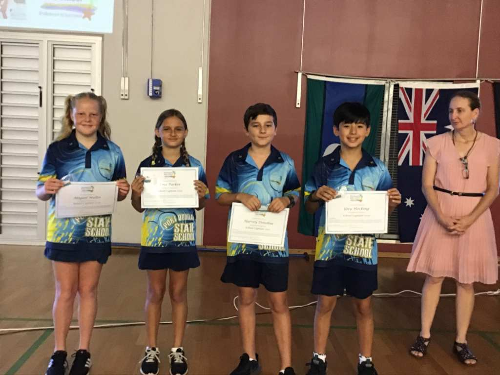 port douglas state school captains