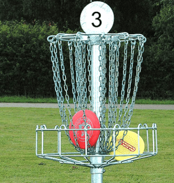 Disc Golf-two sets of four discs for two players