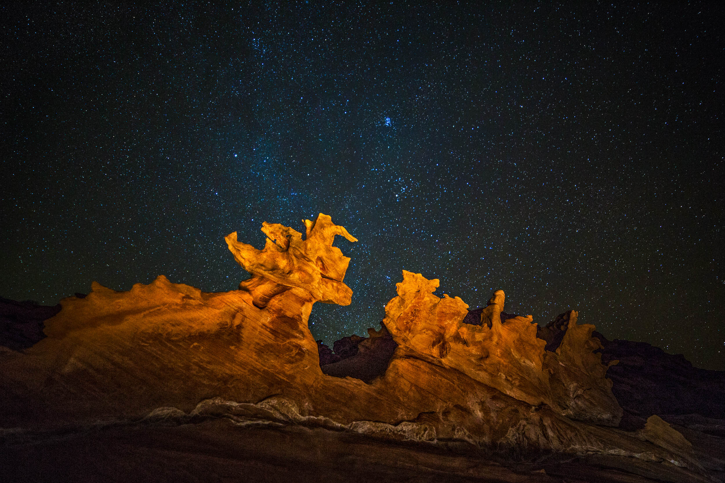 Starry Night at Little Finland