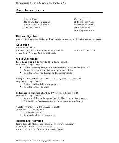 resume examples purdue owl abdh
