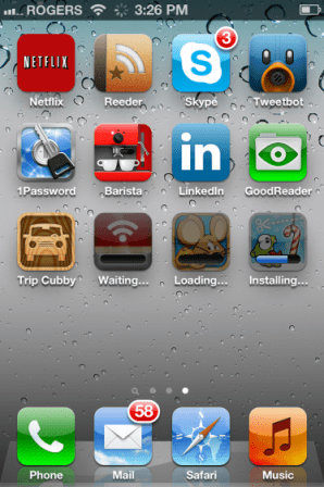 Installing multiple apps iPhone