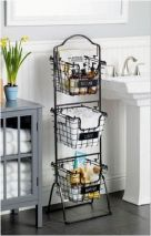 66 Small Bathroom Storage Ideas And Wall Storage Solutions 25