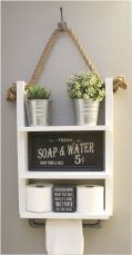 66 Small Bathroom Storage Ideas And Wall Storage Solutions 4