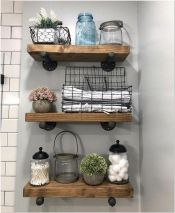 66 Small Bathroom Storage Ideas And Wall Storage Solutions 8