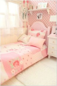 66 Lovely Pink Bedroom Design Ideas For Your Teen Girl 1
