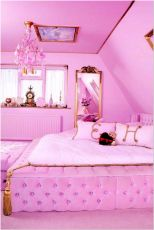 66 Lovely Pink Bedroom Design Ideas For Your Teen Girl 19