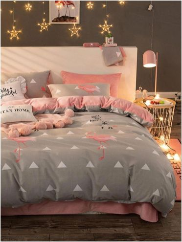 66 Lovely Pink Bedroom Design Ideas For Your Teen Girl 7