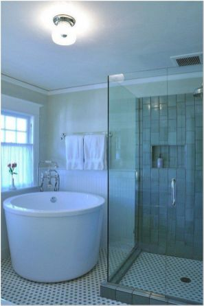 77 Tips On Using Bathtubs Sinking Tubs And Shower Tiles In Your Tiny House Bathroom Design 16