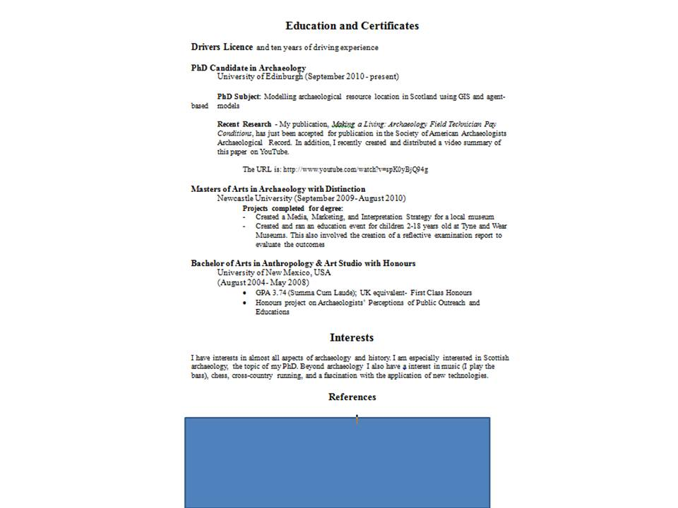 what does a resume look like for a first job scholarship essay