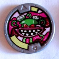 Yo-Kai Watch Wazzat Series One Medal