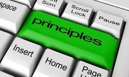 Principle based leadership