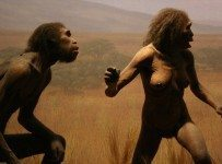 Adam and Eve finding out they get to be people.