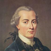 Immanuel Kant says that Immanuel can't be Immanuel because of Immanual Kant's cant.