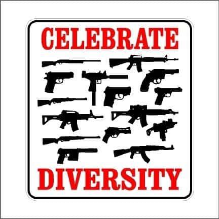 Celebrate Diversity Guns