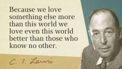 cs lewis - douglas wilson - quote june 2016