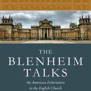 Blenheim Talks Cover
