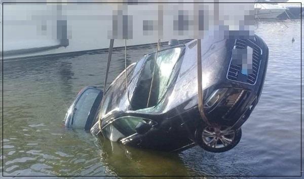 سقوط سيارة عميد شرطة داخل حوض مائي بميناء طنجة تحوم حوله شكوك