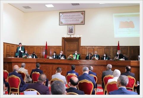 السلطة القضائية تحصر قائمة ممثلي القضاة للتنافس حول استحقاقات 23 من أكتوبر القادم