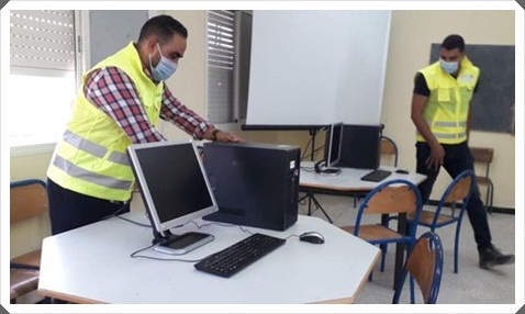 المدير الاقليمي لوزارة التربية الوطنية بالجديدة يقوم بزيارات ميدانية لمؤسسات تعليمية في اطار المواكبة و التتبع