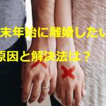 年末年始に離婚したくなる原因は夫の対応?嫁姑問題に解決方法はある?