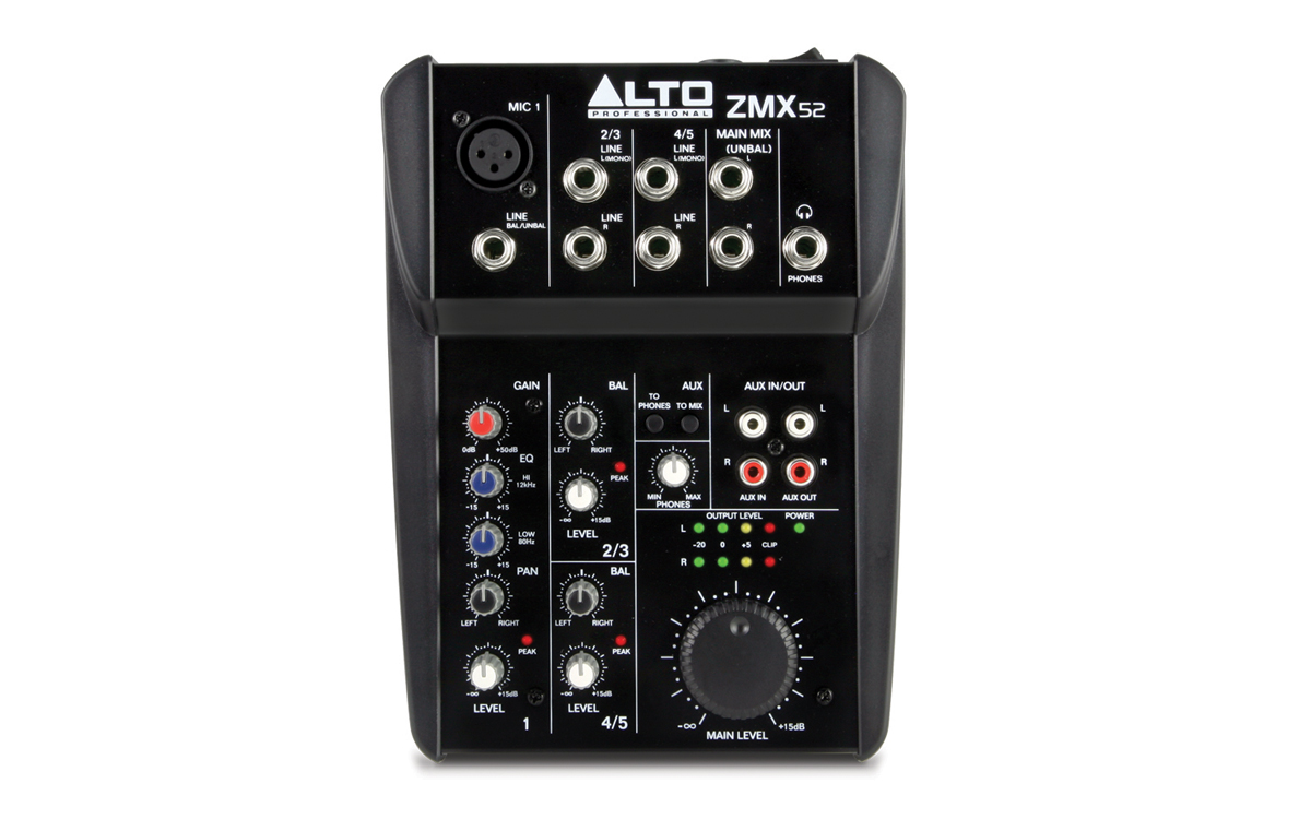 ALTO Zephyr ZMX52 2