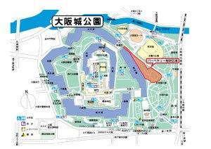 大阪城公園花見BBQ