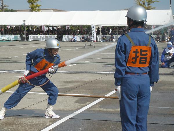 消防操法1番員のタイムを縮めるところはここ。
