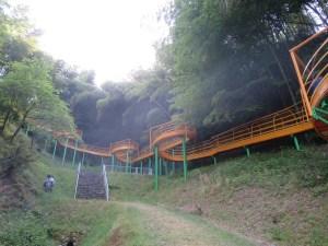 福井県きのこの森スライダー