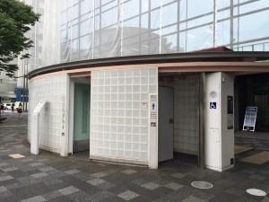 烏丸御池公衆トイレ(龍珠軒トワレルージュ)