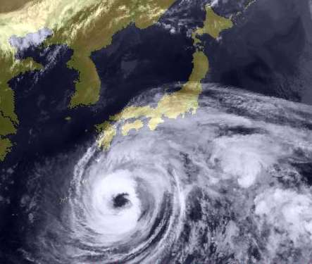 現在の台風情報