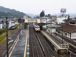 君の名はの聖地 飛騨古川駅