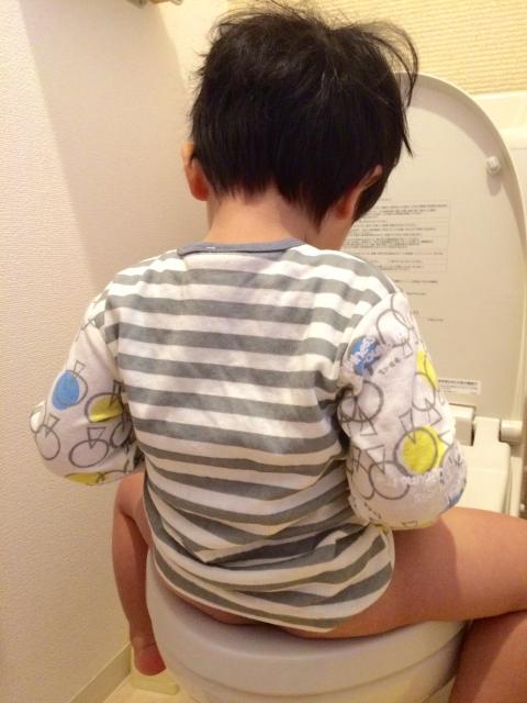 子育て トイレに行けない幼児