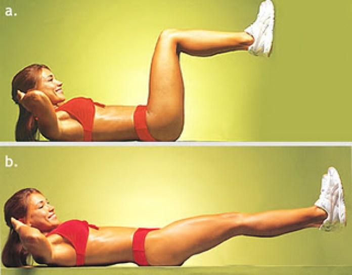 elevação de pernas