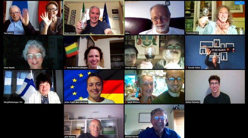 Zoom conference to celebrate Europe Day!