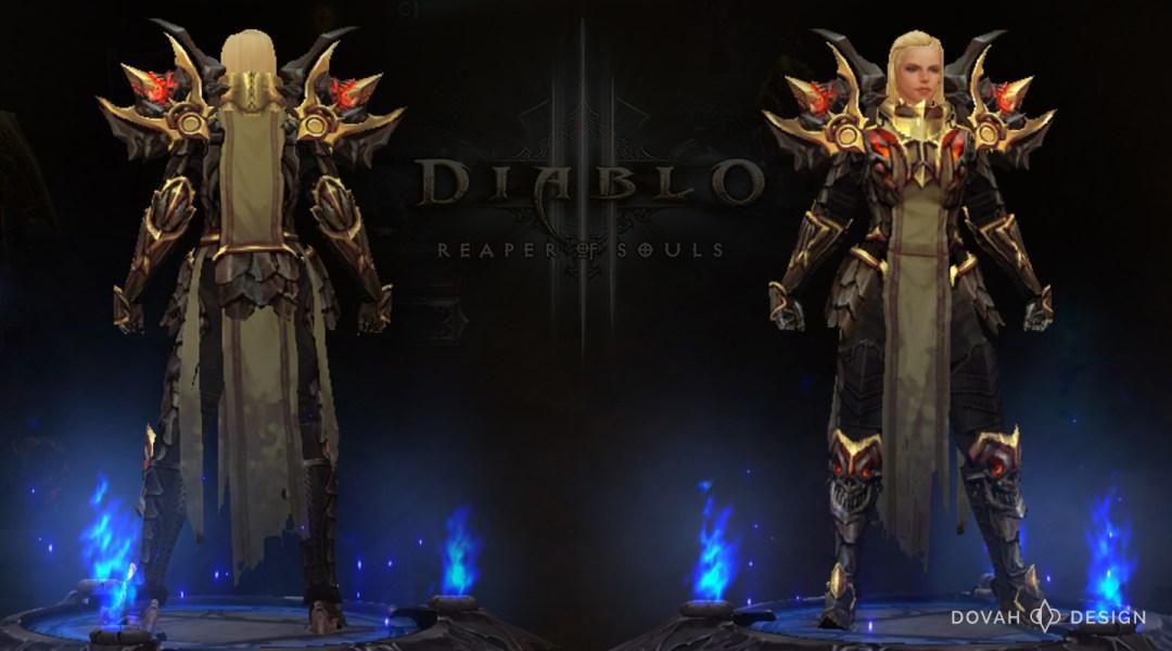 Diablo 3 Crusader Cosplay Progress