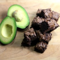 Avocado Truffle Fudge Brownies