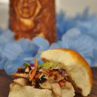 Cocoa-Yaki Chicken Sliders