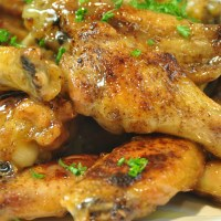 Honey Mustard Hot Wings