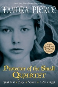 Cover for The Protector of the Small Quartet by Tamora Pierce