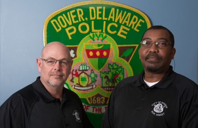 Agents Andy Morris and Carl Humphrey work in the Sex Offender Enforcement Unit