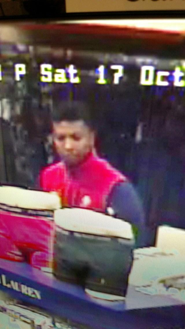 Macy's Robbery Suspect