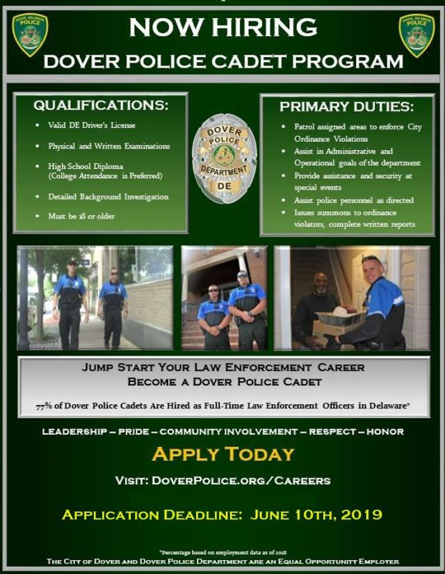 CAREERS | City of Dover Police Department